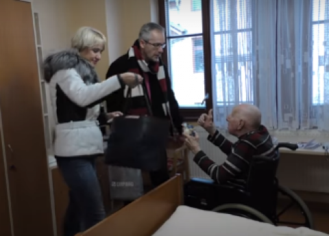 Zástupci pro seniory navštívili domov pro seniory