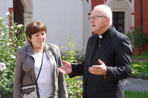 Kampaň Místa přátelská seniorům začala na biskupství