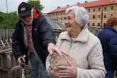 První návštěva klientů Chd sv. Zdislava v Jezdeckém klubu Marie Terezie